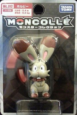 Bunnelby figure Takara Tomy Monster Collection MONCOLLE MC series