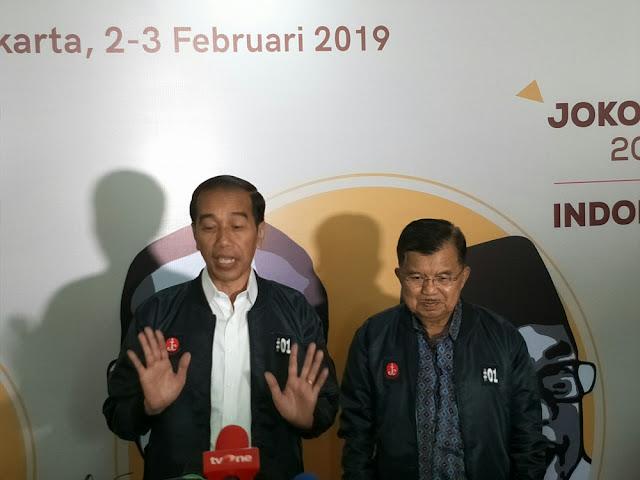 Jokowi: Pidato Saya Lantang, Tapi Tidak Semburan Dusta