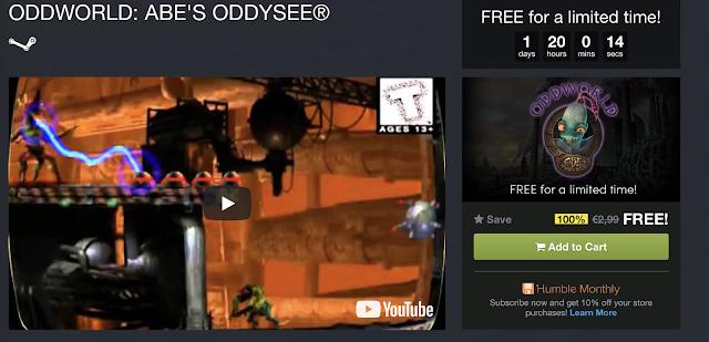 Oddworld: Abe's Oddysee gratis para PC (Steam y GOG)