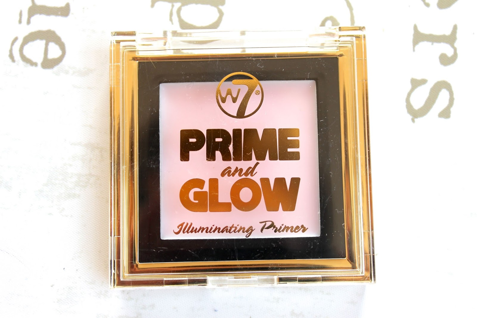 w7 cosmetics prime glow review