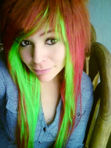 A Variety Of Emo Scene Hairstyles Latest Hairstyles
