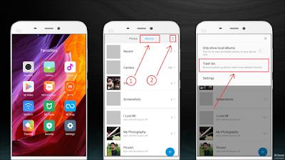 Koleksi Foto Penting yang Ada Di Smartphone Xiaomi Kamu Tidak Sengaja Terhapus? Ini Tutorial Cara Mengembalikannya