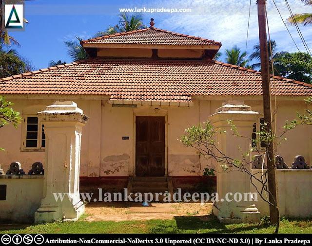 The image house of Samudrasanna Viharaya, Galkissa