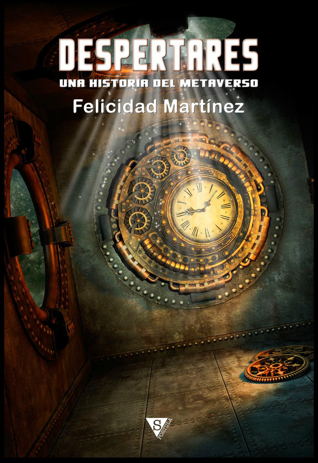 cubierta del libro despertares de felicidad martinez