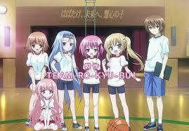 Poster anime bertema basket Ro-Kyu-Bu!