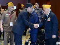 Presiden Jokowi: Perjuangan Veteran Sumber Semangat Bangsa