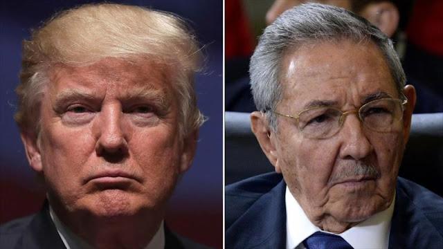 Trump: Cancelaré acuerdo de normalización de relaciones con Cuba