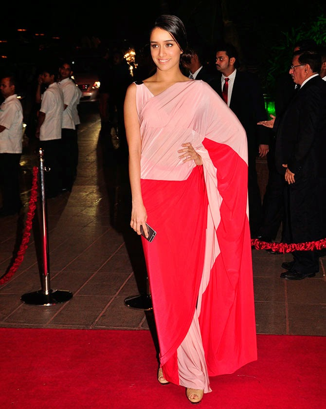 Shraddha Kapoor, Pics from Arpita-Ayush's Wedding reception