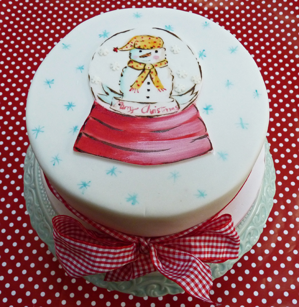 Amelie's House: How To Decorate Your Christmas Cake