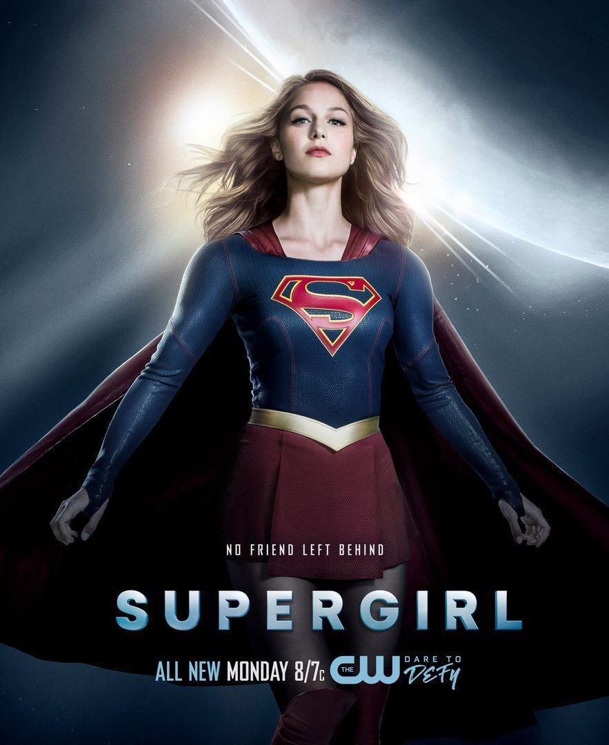 supergirl temporada 2 poster