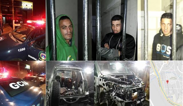 GCM de Santo André estoura desmanche de veículos roubados em galpão na Vila São Pedro