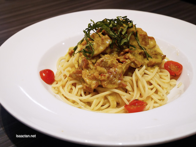 Spicy Smoked Beef Pasta - RM16.90