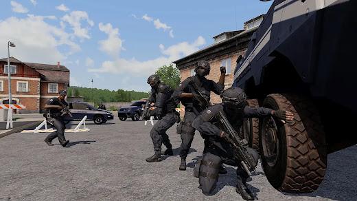 Arma3の国家憲兵隊を拡張するMOD