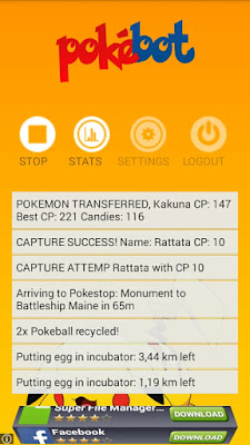 pokebot apk terbaru for android cheat pokemon go update