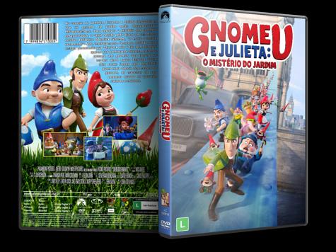 Capa DVD Gnomeu e Julieta: O Mistério do Jardim [Custom]