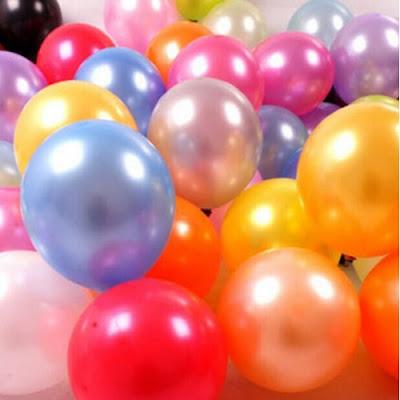 Balon Latex Metalik 12 Inch