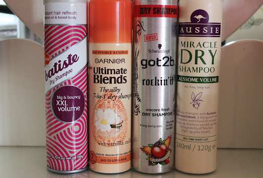 my top 4 dry shampoos  ~ ANNA IN VENTURE