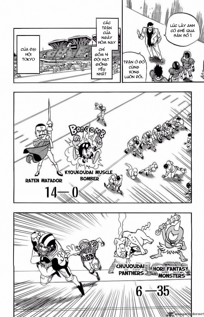 Eyeshield 21 chapter 99 trang 15