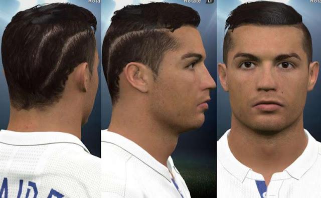PES 2016 Cristiano Ronaldo New Hair