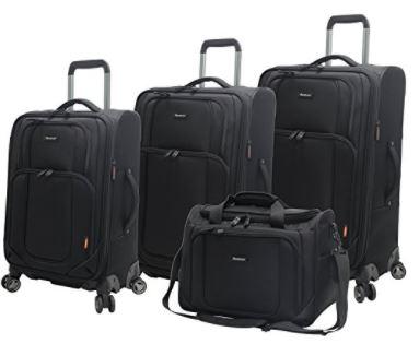 Pathfinder Luggage 4-piece Spinner Set
