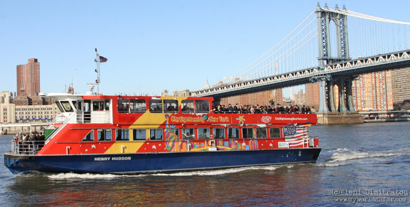 East River New York boat tour (c) E. Dimitratou