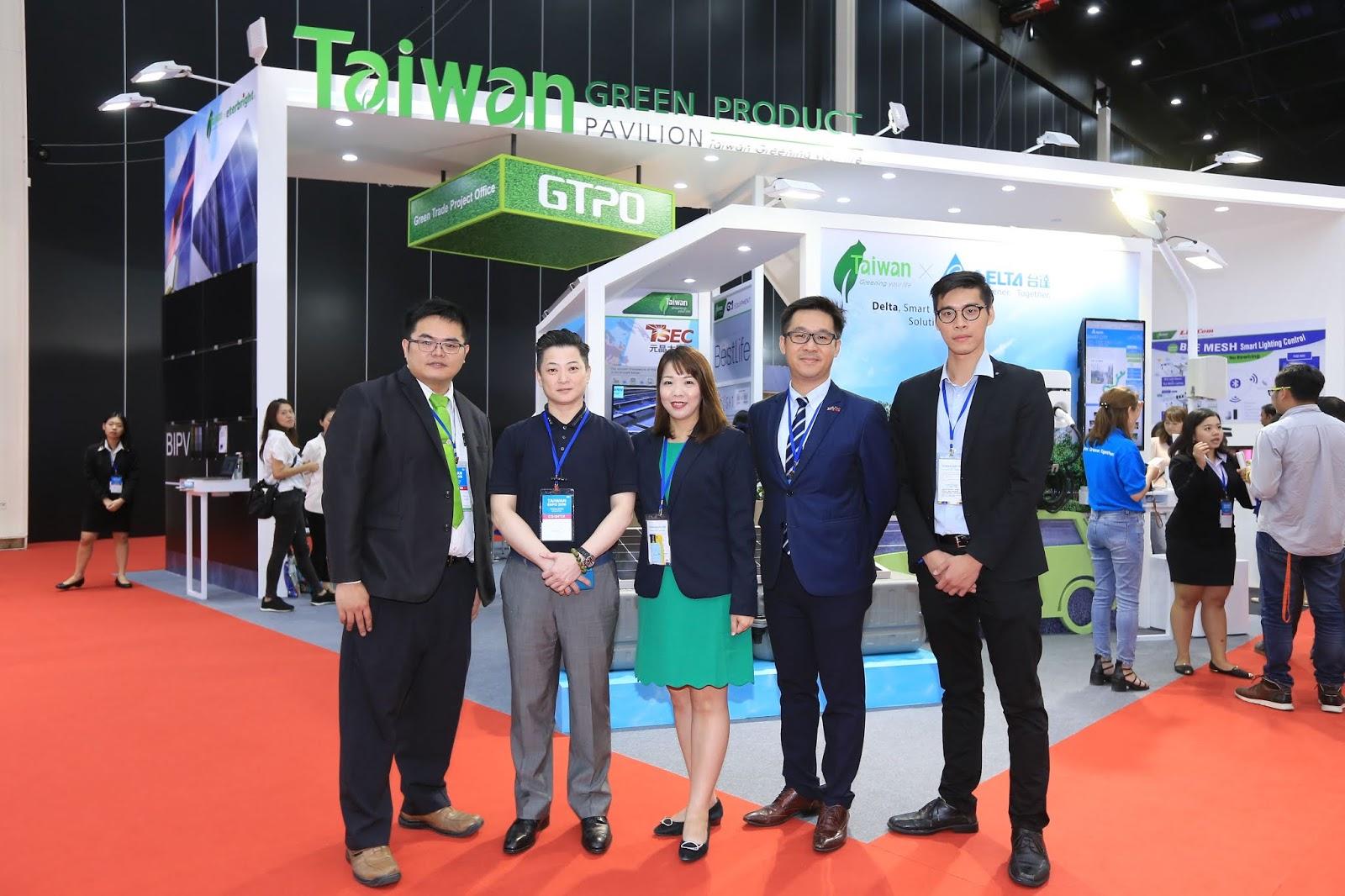 สำนักงานโครงการการค้าสีเขียวไต้หวัน จัดแสดงซุ้มผลิตภัณฑ์สีเขียว  นำเสนอเทคโนโลยีเพื่อการสร้างเมืองอัจฉริยะตามนโยบายไทยแลนด์ 4.0  ในงาน Taiwan Expo 2018