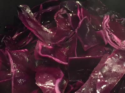 Garlic Red Cabbage