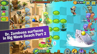 Game Plants VS Zombies 2 Apk Android