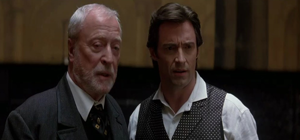 Screen Shot Of Hollywood Movie The Prestige (2006) In Hindi English Full Movie Free Download And Watch Online at worldofree.co