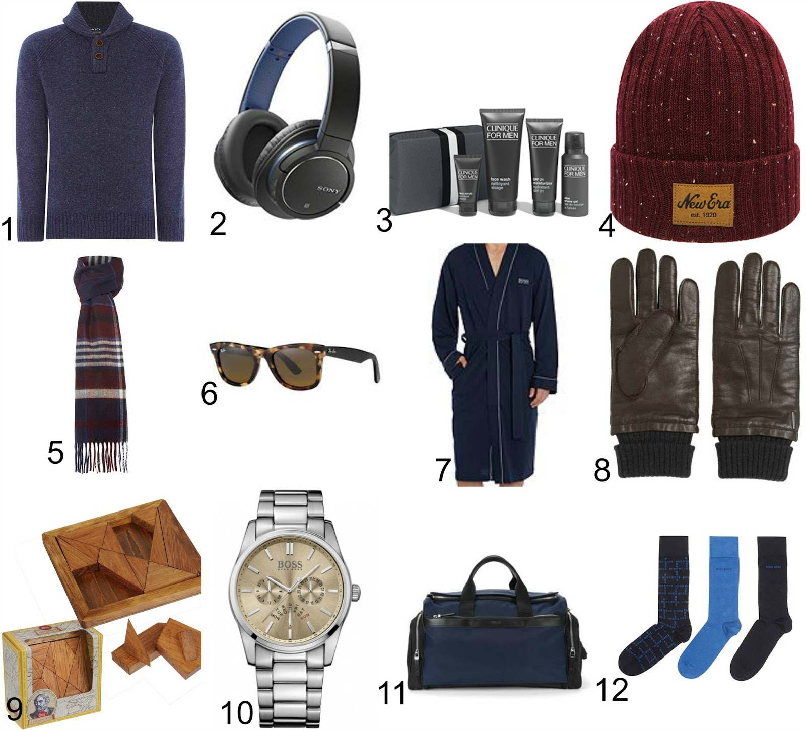 Men's Christmas Gift Guide 2016