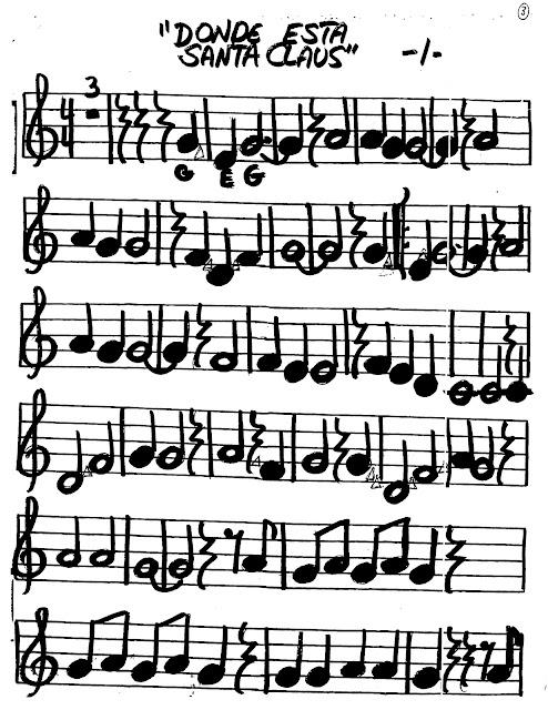 Miss Jacobsons Music Donde Esta Santa Claus