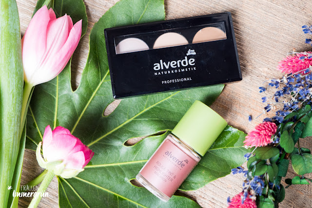 Alverde Contouring Kit Light und Rouge Tint & Highlighter Macaron