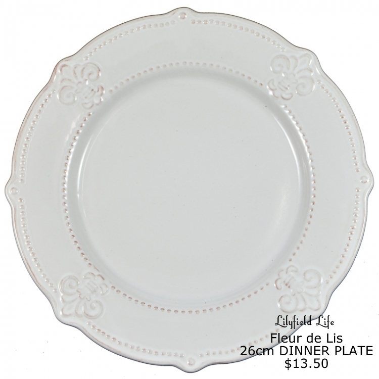 You might also like Fleur de Lis cabinet  sc 1 st  Lilyfield Life & Lilyfield Life: Fleur de Lis Dinnerware for Lilyfield Life