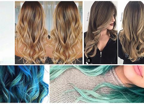 Ombre na włosach długich i krótkich. Ombre blond, rude i kolorowe. Najpiękniejsze fryzury ombre. Ombre w domu.