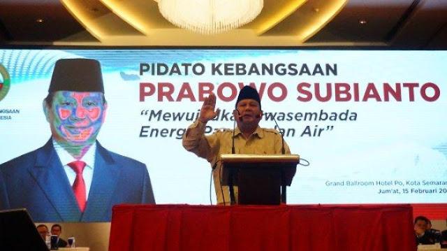 Prabowo: Pemerintah Mengakui Kebocoran Kekayaan Negara