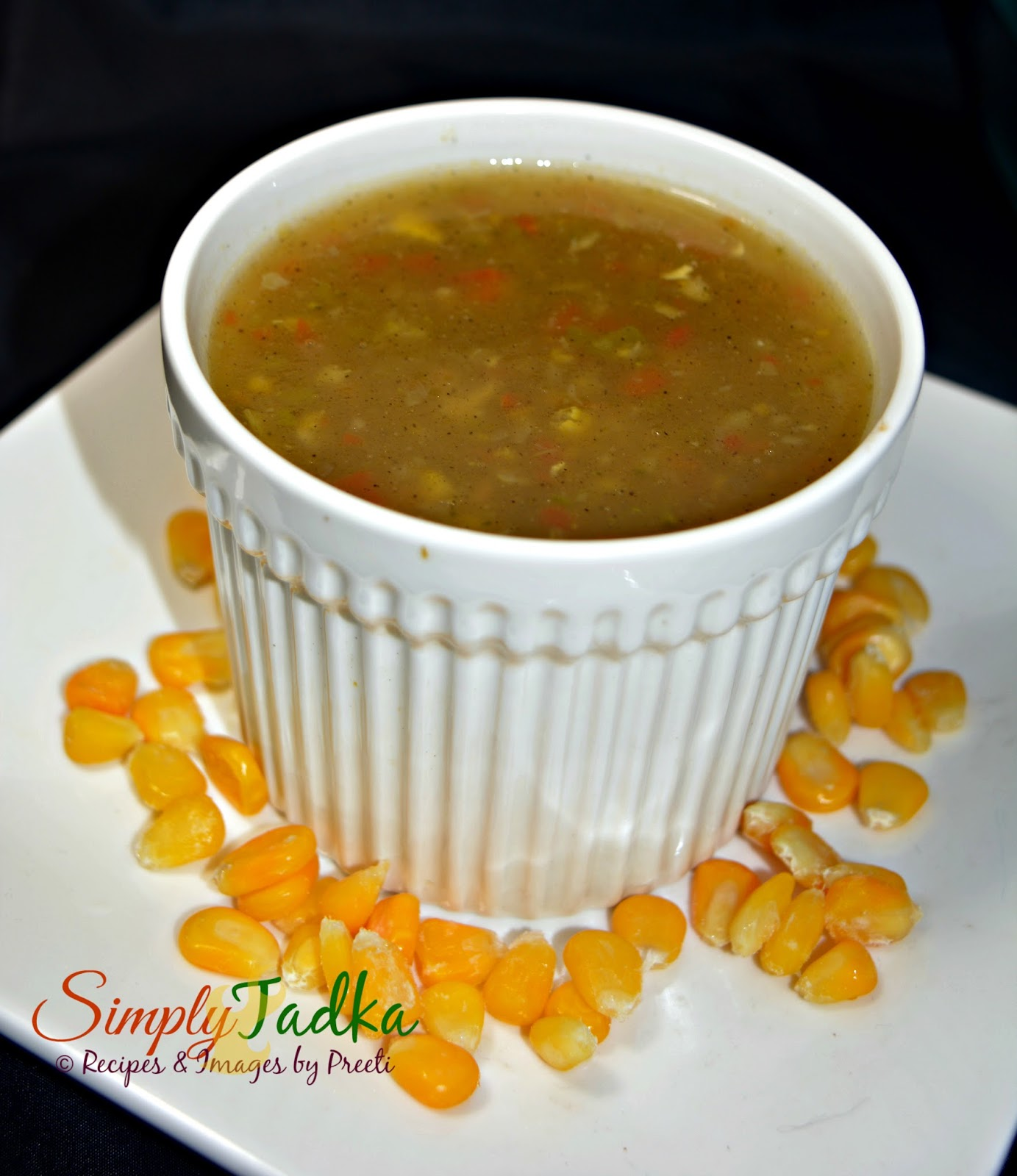 Sweet corn and vegetable soup chinese recipes simply tadka forumfinder Images