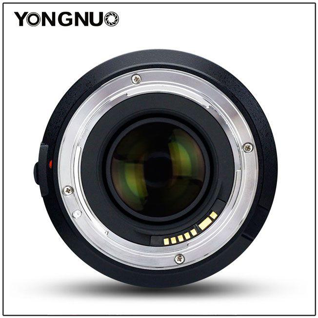 Yongnuo YN 50mm f/1.4, вид сзади