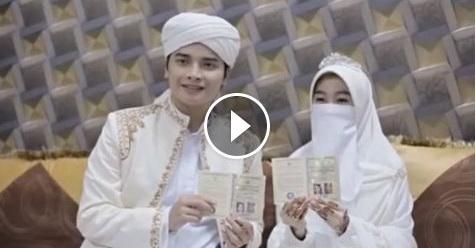 Video Pernikahan Alvin Dan Larissa Chou Ini Membuat Netizen Terharu Melihatnya