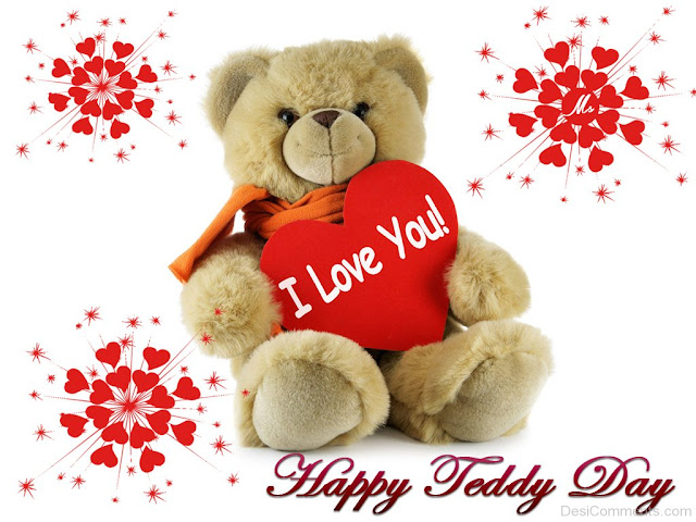 Teddy Day 2018 Greetings Images Wallpapers