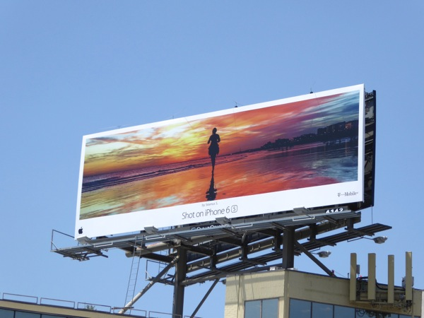 Shot on iPhone 6s Seamus S Shoreline billboard