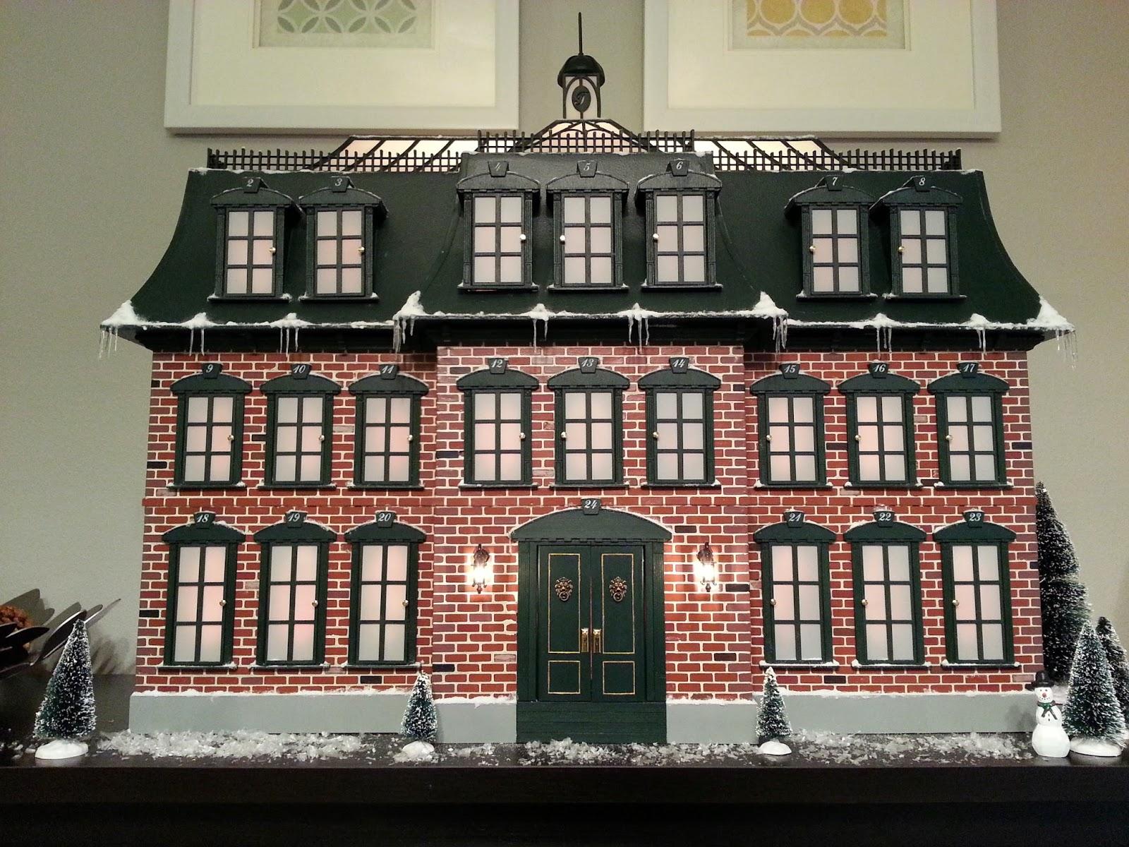 Christmas Advent House.Tiger Mountain Christmas Advent House