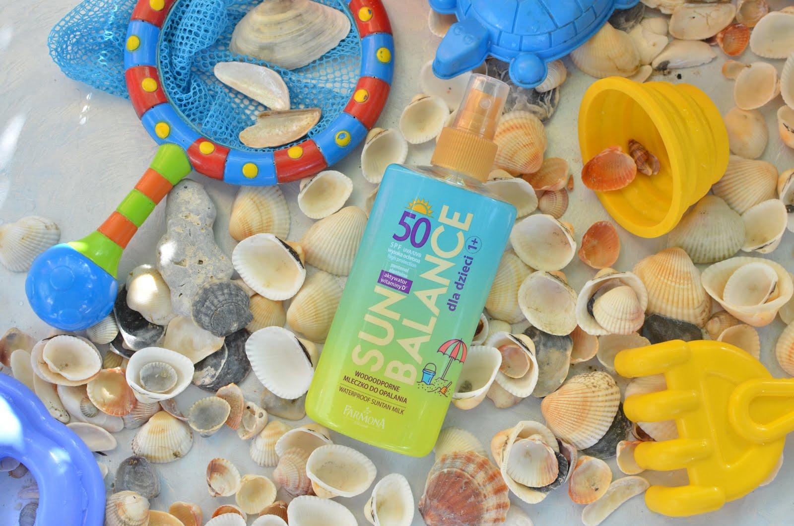 Farmona Sun Balance Milk SPF 50 Водостойкое молочко для детей