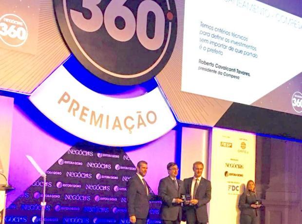 Compesa é novamente a campeã da premiação da Revista Época Negócios