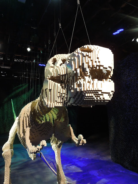 T-Rex close up