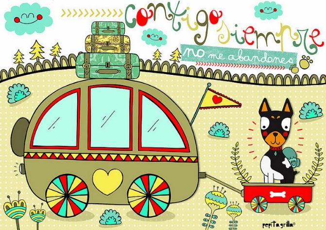 39c43dfa27c1 La encontraréis en Pinterest con un mundo lleno de ilustraciones tan  bonitas como éstas.