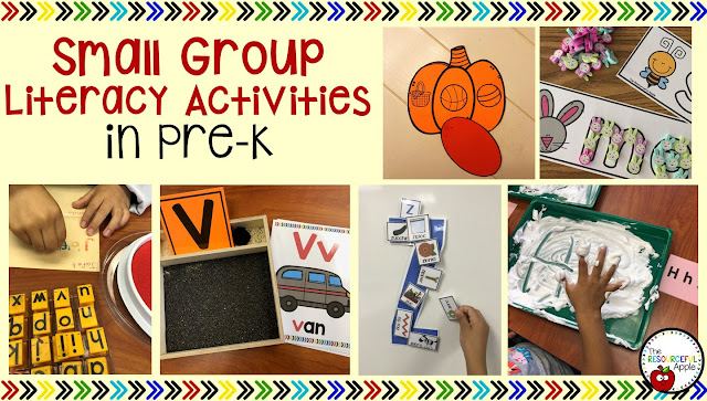 Small Group Literacy Activities in Pre-K