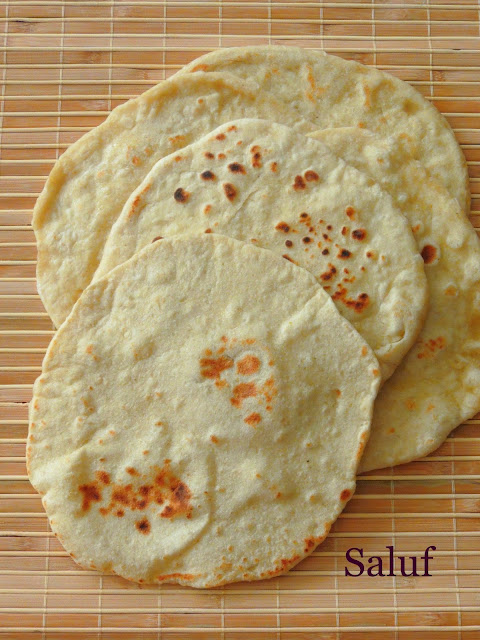 Yemenite Flatbread, Saluf