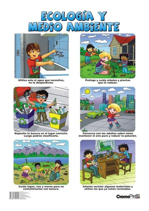 cuidar el medio ambiente para niños