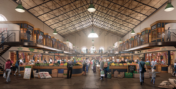 Scarborough Market Hall Transformation