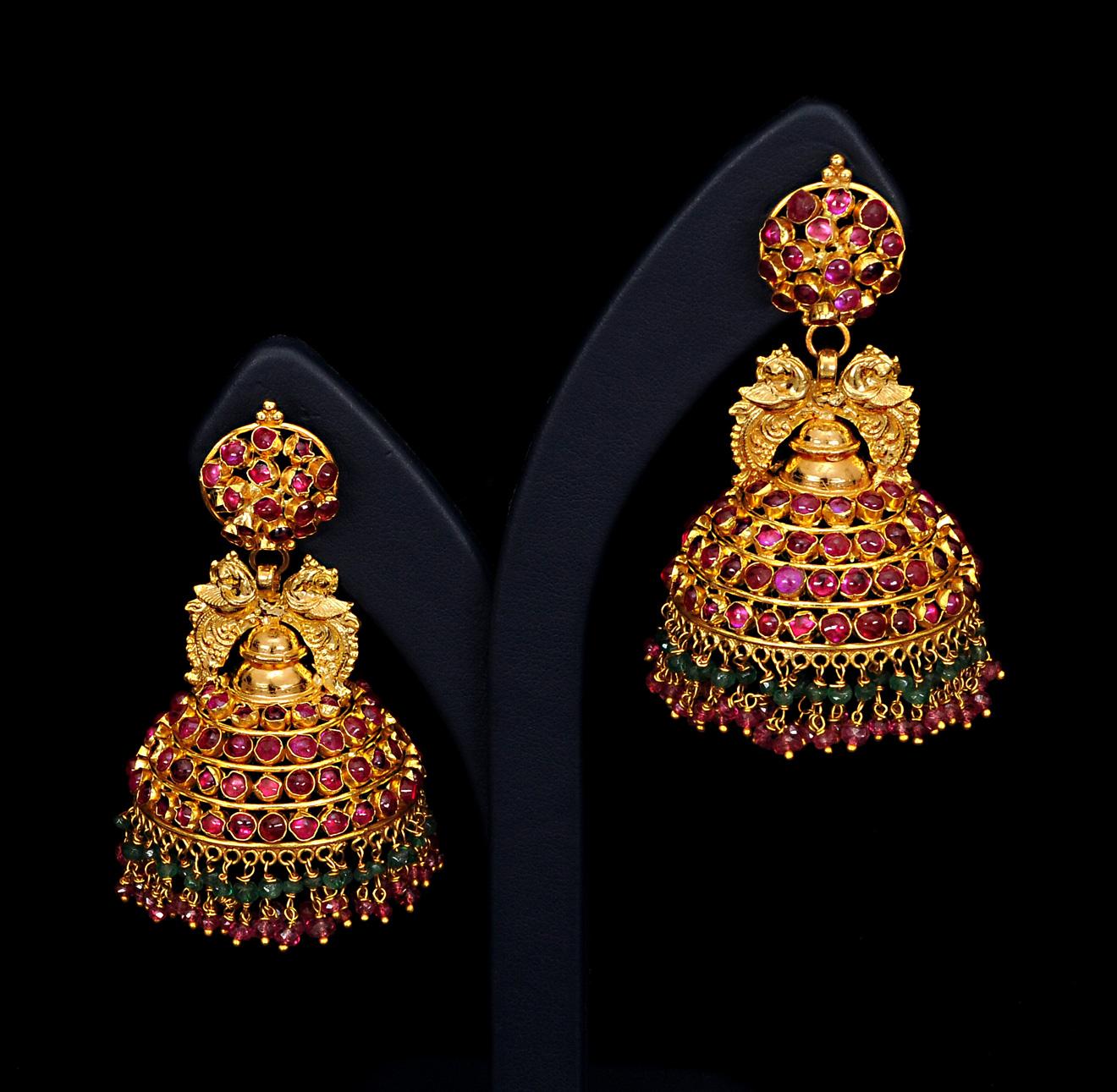 Ladies New Brands Wedding Bridal Gold Ladies Earrings